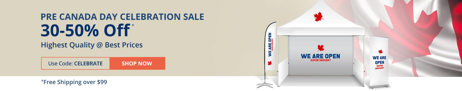 Pre Canada Celebration Sale