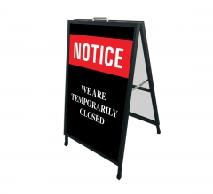 We are Temporary Closed Metal Frames