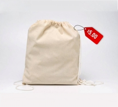 Free Cotton Clinch Bag