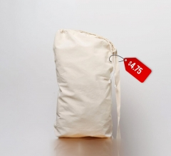 Free Cotton Laundry Bag