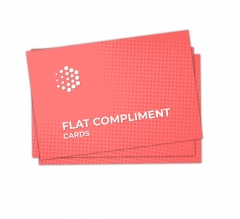 Flat Compliment Cards