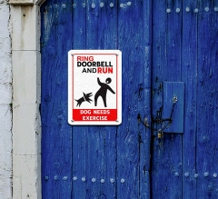 Funny Beware of Dog Signs