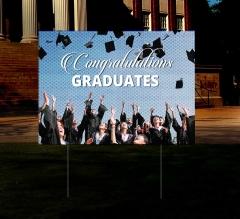 HIP Reflective Graduation Yard Signs