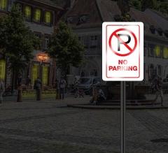 Reflective No Parking Signs