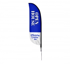 Pre-Printed Open House Feather Flag