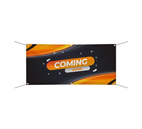 Coming Soon Banners