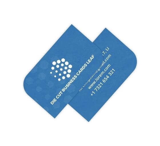 Leaf Business Cards - Vertical