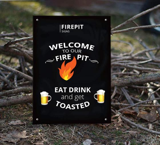 Firepit Signs