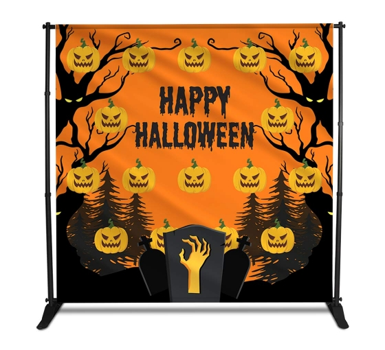 Halloween Step and Repeat Banners