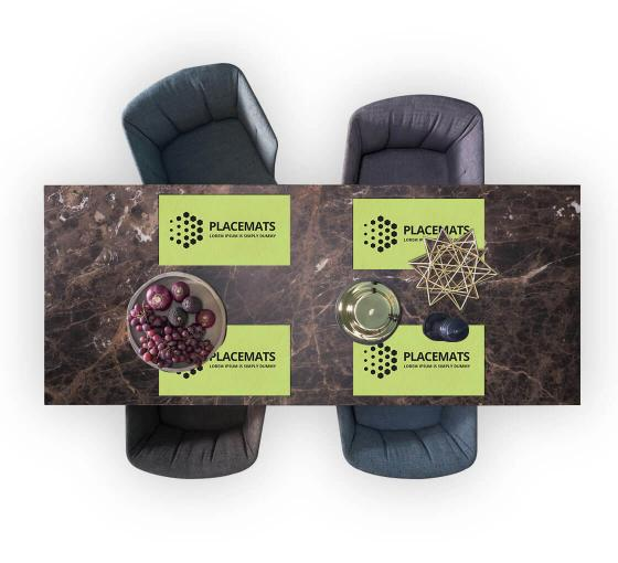 Custom Placemats