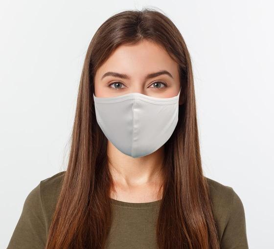 Plain Face Masks