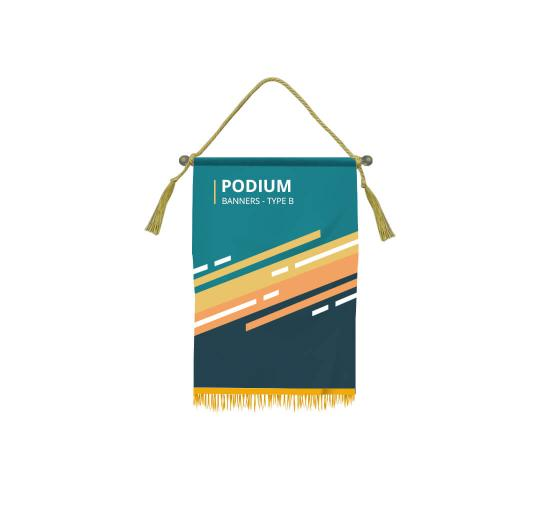 Podium Banners - Type B