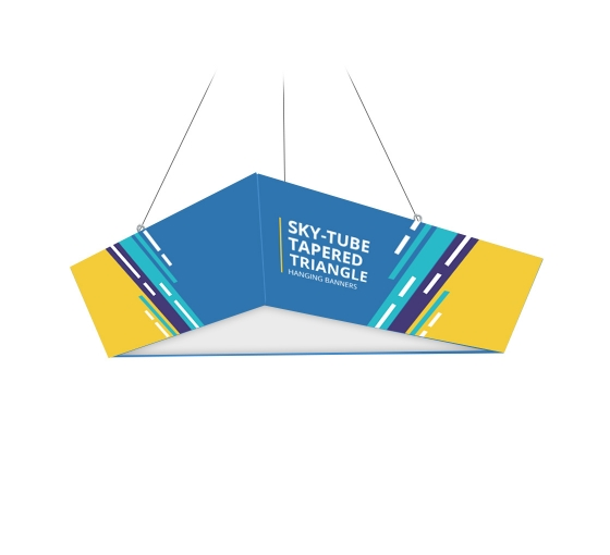 Sky Tube Tapered Triangle Hanging Banners