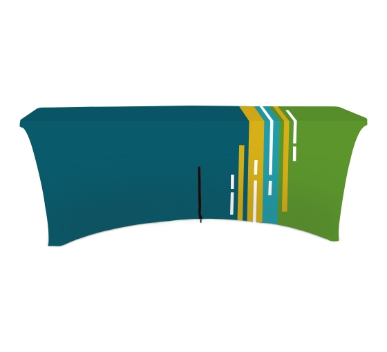 Stretch Table Covers - Zipper Back