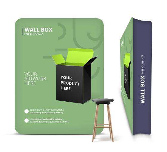 Wall Box Fabric Displays