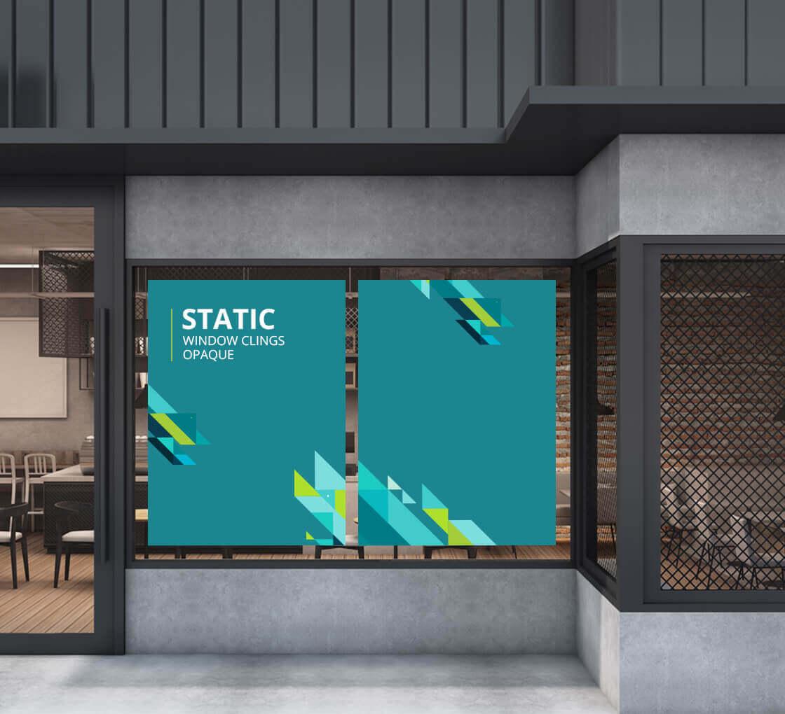 Window clings buy static window clings stickers online in ca